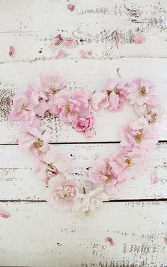 bloemen hart