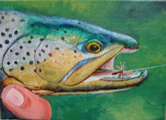 Scott's Creativity for Sanity: Catch and Release Trout - part 2
