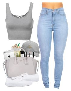 """""""Untitled #447"""" by pinkymimi ❤ liked on Polyvore featuring October's Very Own, Smashbox, Givenchy, Vans, women's clothing, women, female, woman, misses and juniors"""