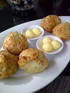 Herb and Cheese scones - Aura Waterfront Restaurant + Patio