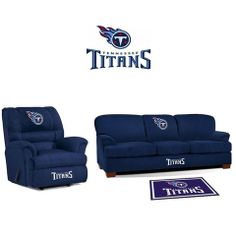 Use this Exclusive coupon code: PINFIVE to receive an additional 5% off the Tennessee Titans Microfiber Furniture Set at SportsFansPlus.com