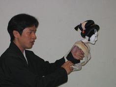 Japanese Puppets Bunraku | El bunraku se desarrolla en escena mediante unos títeres articulados ...