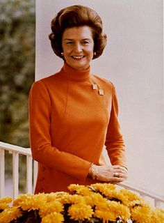Betty Ford showed immense courage in sharing her struggle with alcoholism, and brought recovery to so many.