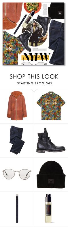 """What's Going On, Marvin Gaye"" by blendasantos ❤ liked on Polyvore featuring adidas Originals, Gucci, Anja, TravelSmith, Ann Demeulemeester, Ray-Ban, Acne Studios, Timex, Frédéric Malle and men's fashion"