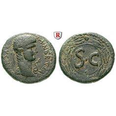 Römische Provinzialprägungen, Seleukis und Pieria, Antiocheia am Orontes, Nero, Bronze, ss: Seleukis und Pieria, Antiocheia am… #coins