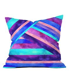 Look at this #zulilyfind! Jacqueline Maldonado Harmony Throw Pillow #zulilyfinds