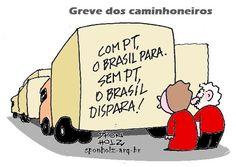GREVE DOS CAMINHONEIROS...