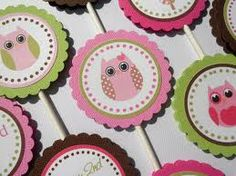 owl cupcake toppers printables - Google Search