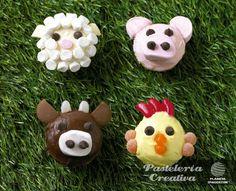 Fascículo 2 de Pastelería Creativa - Pastelitos de animales de granja