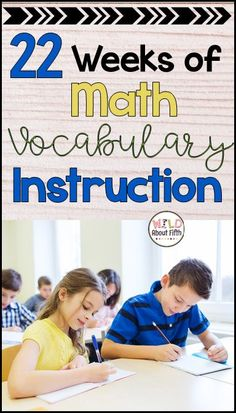 This resource will prove extremely helpful with your math vocabulary instruction. Repetition, practice and consistency is key to vocabulary mastery. Research suggests that students need MULTIPLE exposure to new vocabulary words before they are comfortable with using them in their own vocabulary. This instructional packet is a MUST HAVE for enhancing your math vocabulary classroom instruction. #mathvocabulary #vocabularyinstruction #academicvocabulary #fifthgrademath #teacherspayteachers