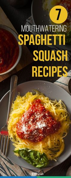 Here are 7 healthy spaghetti squash recipes that will be great for dinner. The ingredients are not expensive so these are perfect for budget meals. You can either bake them or slow cook them in a crock pot, oven as well and prepare in a microwave. Vegetable Recipes, Vegetarian Recipes, Healthy Recipes, Chicken Recipes, Ketogenic Recipes, Delicious Recipes, Easy Recipes, Healthy Cooking, Healthy Eating