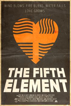 The Fifth Element - Alt. Minimalist Poster by Edwin Julian Moran II