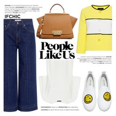 """""""People like us!"""" by ifchic ❤ liked on Polyvore featuring Boutique Moschino, 10 Crosby Derek Lam, Joshua's, Theory, ZAC Zac Posen and contemporary"""