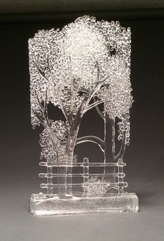 Dialogue Over the Fence II - Glass Artist