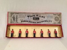 BRITAINS Set No.113 'The EAST YORKSHIRE REGIMENT' in ORIGINAL Box. | eBay
