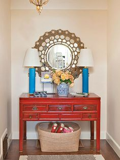 There is not often much of an entry space in apartments or small homes.