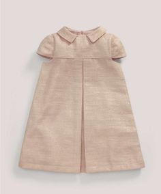 Girls Welcome to the World Pink Textured Dress - All Girls - Mamas & Papas