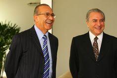 Eliseu Padilha deputado Federal e Michel Temer vice presidente do Brasil