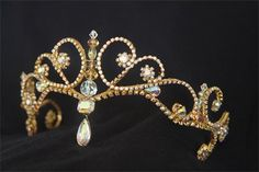Replica of a tiara originally made for Gillian Murphy by Caryn Wells Designs