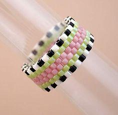Peyote Beadwork - Rings