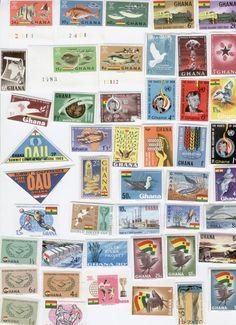 Ghana Stamps,GHANA