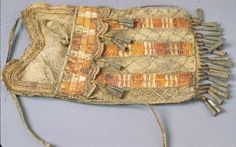 Sioux pouch, 18-19th century.