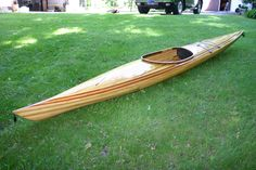 The Looking Glass cedar strip kayak