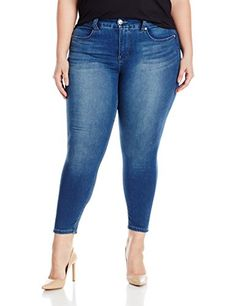 96302711 Melissa McCarthy Seven7 Womens Plus Size Pencil with Back Darts Jean Kailey  16W * To view