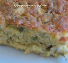 Cheese Pies, Quiche, Banana Bread, Appetizers, Cooking, Breakfast, Ethnic Recipes, Desserts, Food