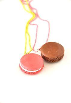 Macaroon necklaces - Thalia & Bubu