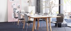 RBM - Vitalising space and relations. Producer of office chairs, office seating, conference tables, conference chairs, lounge furniture and canteen chairs - RBM