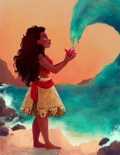 Discovered by Angy Alberto. Find images and videos about disney, princess and moana on We Heart It - the app to get lost in what you love. Moana Disney, Disney Pixar, Princesa Disney, Disney And Dreamworks, Disney Characters, Disney Princesses, Disney Kunst, Arte Disney, Disney Fan Art
