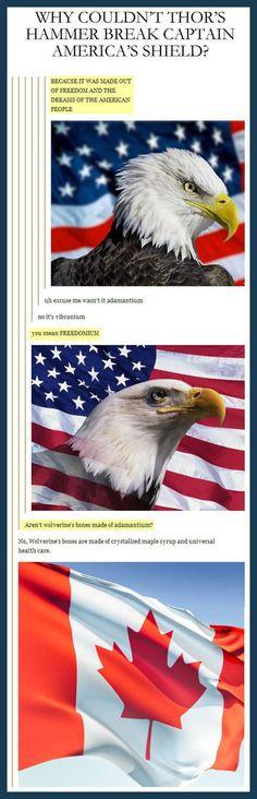 Freedom, eh?