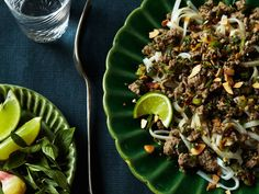 Thai-style Beef Salad over Angel-Hair Pasta | Food & Wine goes way beyond mere eating and drinking. We're on a mission to find the most exciting places, new experiences, emerging trends and sensations.