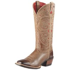 The Madrina is for the cowgirl who always delivers a classy performance. Subtle contrast and intricate stitch detail adorn the shaft for that ...