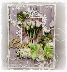 Cards made by Chantal: Love.....