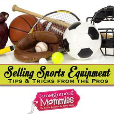 Putting Your Best Cleat Forward (Selling Sports Equipment on Consignment) #consignmentsales #consignmentmommies #powersellers