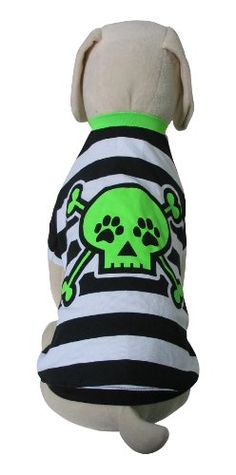 UP-Collection Funky Stripped Skull T-Shirt 92041e244