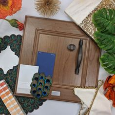 750 Cherry Autumn complemented by peacock hues and all the warmth of the Mediterranean provide inspiration even if you're nowhere near the coast!  #waypointlivingspaces #kitchencabinets #colorfulallure Maple Cabinets, Cherry Cabinets, Kitchen Cabinets, What's Your Style, Other Rooms, Mondays, Cabinet Doors, Peacock, Living Spaces