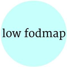Gluten Free Low Fodmap Recipes