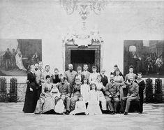 Group photograph, Denmark Czar Nicolau Ii, Christian Ix, Queen Victoria Prince Albert, Queen Margrethe Ii, Old King, Tsar Nicholas Ii, Royal Blood, Danish Royal Family, Saint Petersburg