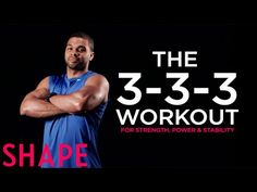 Chase Weber: 45 Minute Strength, Power and Stability Workout Yoga Position, Coach Sportif, New Program, Shape Magazine, Move Your Body, Bodybuilding Workouts, Routine, Get In Shape, Workout Programs