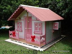 casinha de boneca de madeira 4