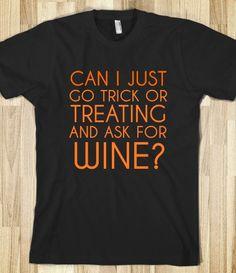 TRICK OR TREAT WINE