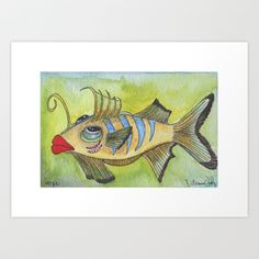 HOPE Art Print by Caribbean Critters Co. - $19.00