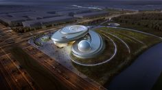 Gallery of Ennead Tapped to Design Shanghai Planetarium - 1