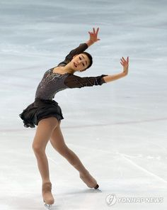 Kim Yuna is a South Korean figure skater. She always has the most gorgeous costumes.