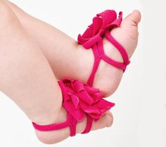Baby sandals Baby girl flower barefoot sandals feet by SnugAWoo Newborn Shoes, Baby Shoes, Baby Booties, Toddler Shoes, Infant Toddler, Toddler Sandals, Kid Shoes, Cute Kids, Cute Babies