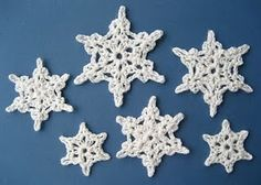 Attic24 Crochet Snowflake tutorial