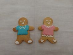 galletas con glasa: gingerbreadman